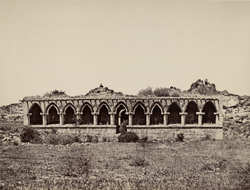 Beejanuggur. The Treasury. [Vijayanagara.]
